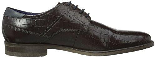 Bugatti 312163011600, Zapatos de Cordones Derby para Hombre Rot (bordo 3500)