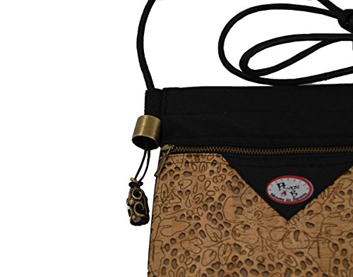 B Multi Bag Mod for natural cork Baco Shoulder Bag Women Travel Plan in Crossbody Pocket Twg1CT