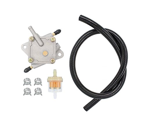 MOTOKU Fuel Pump Hose Filter For EZ-GO EZGO Golf Cart 94-03 TXT Medalist Marathon 4-Cycle 295cc 350cc Robin Pre-MCI Engine Replaces 72021-G01