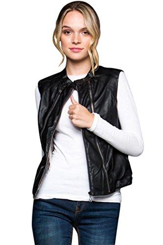 Leather Vest Jackets - 2
