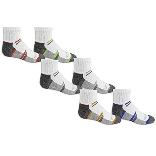 Fruit of the Loom Boys Ankle Socks 6 Pairs ()