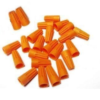 Orange Wire Nuts Connectors - 500 Pack