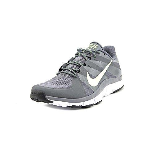 Nike Free Trainer 5.0 Running Shoes Dark Grey / Volt (10.5, Dark Grey/Volt)