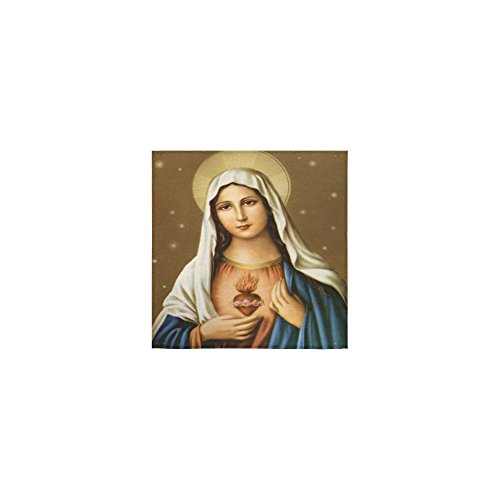 Christmas/Thanksgiving Day Towels Catholic Religious Vingin Mary Thin Soft Towel(One Side)(13x13inches) by Virgin Marry Towel