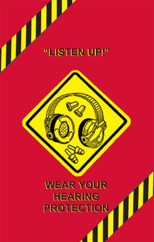"""Used, MARCOM Hearing Conservation and Safety Poster, 24"""" for sale  Delivered anywhere in Canada"""