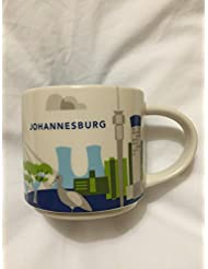 New Starbucks Johannesburg South Africa Coffee Mug You Are Here YAH Cup Limited 1 3000 Jozi