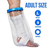 prosthetic leg supplies - Waterproof Cast Cover For Shower & Bath - Adult Leg. (Large)