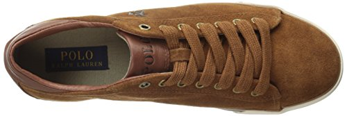 Polo Ralph Lauren Heren Harvey Fashion Sneaker Nieuwe Snuif
