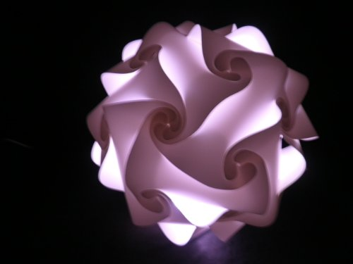 """Deckenlampe """" Salzburg """" Durchmesser 55 cm, inkl. 16 Farben LED Farbwechsler mit Fernbedienung"""