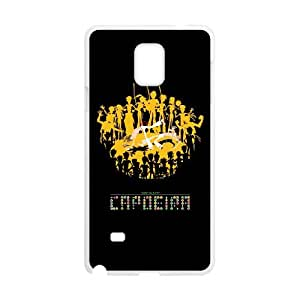 Samsung Galaxy Note 4 Cell Phone Case White How To Play Capoeira UWY Ballistic Phone Cover