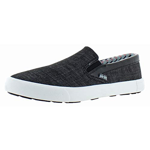 Ben Sherman Men's Percy Slip-On Black Denim 43 M EU