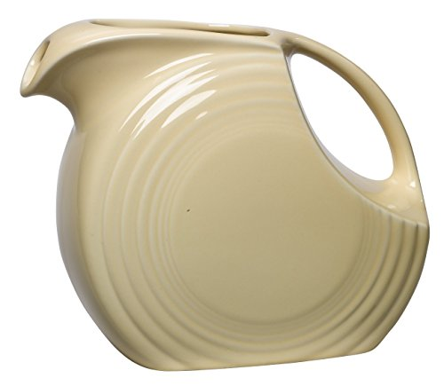 Fiesta 67-1/4-Ounce Large Disk Pitcher, Ivory