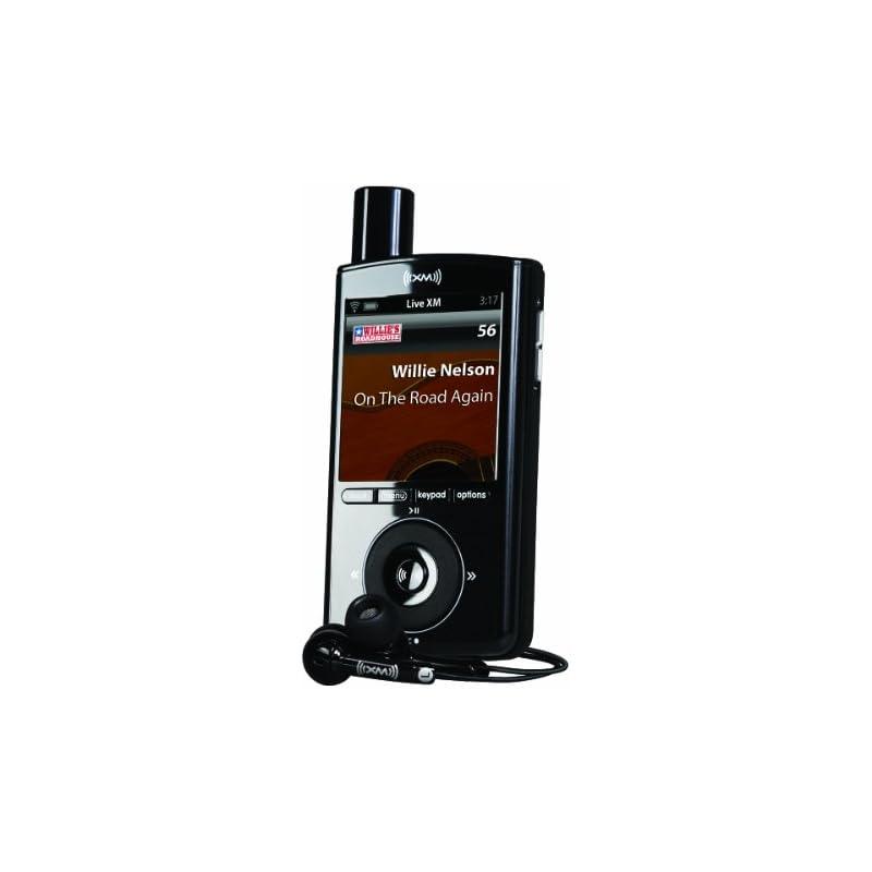 XM XPMP3H1 Portable Satellite Radio and