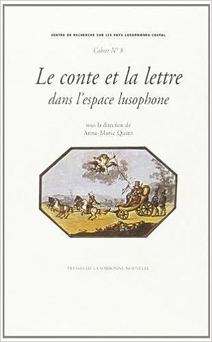 Book conte et lettre dans espace lusophone. 8