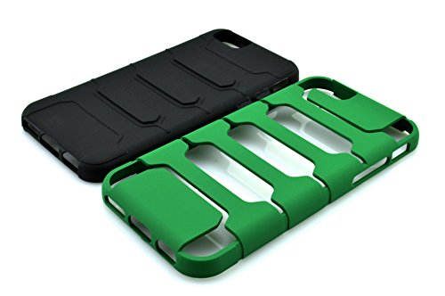 iPhone 6S hülle, iPhone 6 hülle, Lantier Cool-Serie, 2 in 1 Combo Defender Hybrid High Impact Body Armor harte PC & Silicone Case Schutzhülle für Apple iphone 6 / 6S Lila