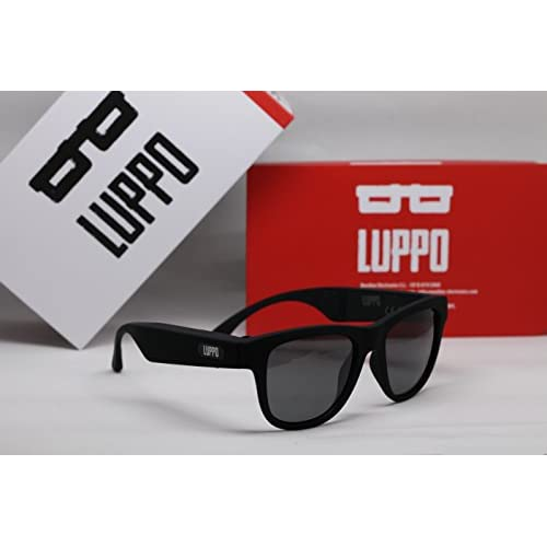 268bcb0917 LUPPO Gafas de Sol Polarizadas con Auriculares Bluetooth de Conducción Ósea  Auriculares Inalámbricas SmartTouch Stereo Music