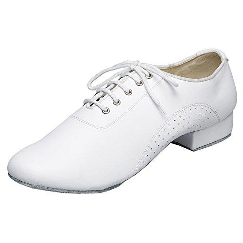 Minitoo , Herren Tanzschuhe , Weiß - weiß - Größe: 44