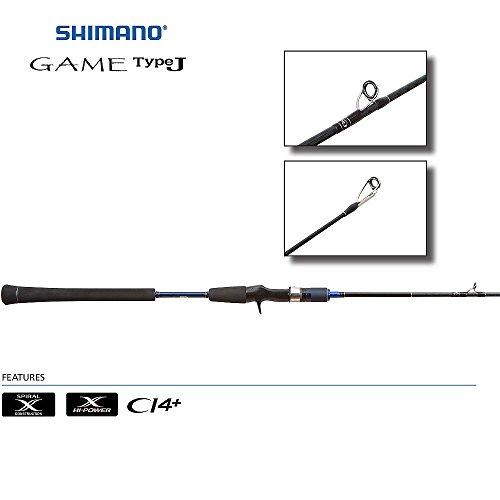 Shimano Game TypeJ Jigging Conventional Rods