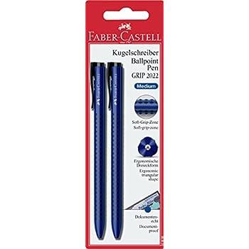/Bol/ígrafo color azul 544651 Faber-Castell Grip 2022/ Kugelschreiber Grip