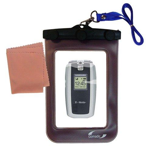Gomadicアウトドア防水携帯ケースSuitable for the Samsung sgh-t719に使用Underwater – keepsデバイスClean and Dry   B0049KYI6E