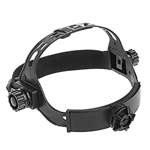 Hared Adjustable Welding Welder Mask Headband Solar Auto Dark Helmet Accessories Black