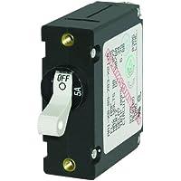 1 - Blue Sea 7202 AC / DC Single Pole Magnetic World Circuit Breaker - 5 Amp