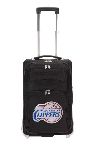 nba-los-angeles-clippers-denco-21-inch-carry-on-luggage-black