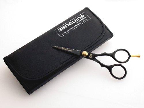 Beard Trimming Scissors, Mustache Scissors 5.5″ (14cm) + Presentation Case