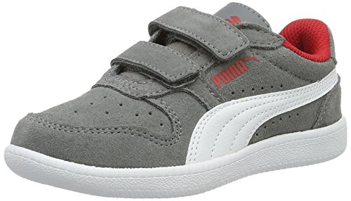 Puma Icra Trainer SD V PS, Zapatillas Unisex Niños Gris (Steel Gray/Puma White 14)