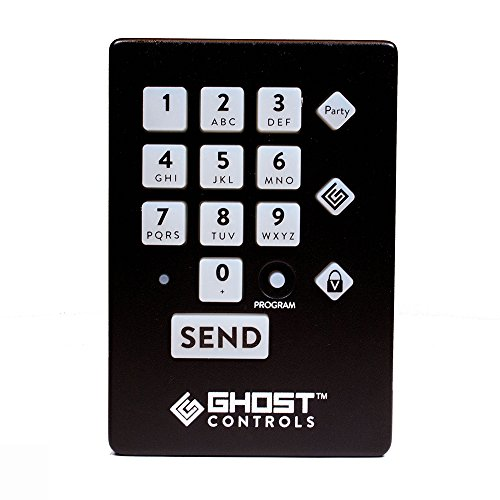 Gate Keypad (Ghost Controls AXWK Premium Wireless Keypad for Automatic Driveway Gate Opener Systems)