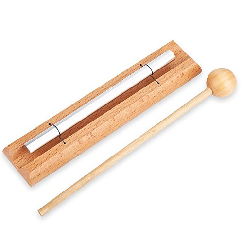 Percussion Chime Kids 1-Tone Percussion Musical Chime Toys Meditation Chime for Prayer, Yoga by VGEBY