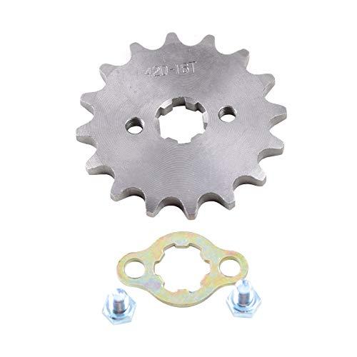 ZXTDR 420 17mm 16 Teeth Front Engine Chain Sprocket for ATV Dirt Pit bike