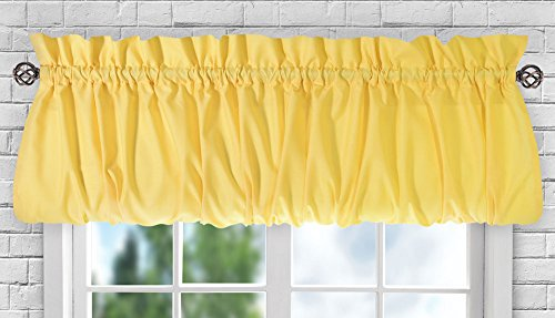 Ellis Curtain Stacey Sheer Balloon Valance, 60
