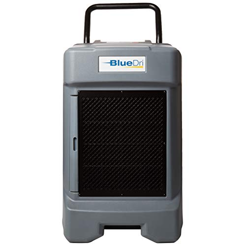 BlueDri BD-130P 225PPD Industrial Water Damage Equipment Commercial Dehumidifier with Hose for Basements in Homes and…