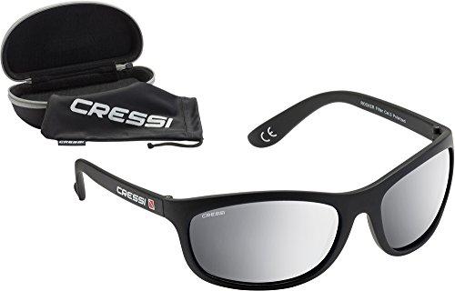 Anti para Gafas Cressi Cristales Rocker Reflejado polarizados Negro Gris UV Lentes desol Hombre polarizadas 100 zSCTqCw