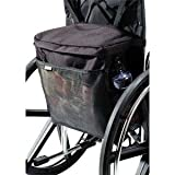 Homecare Products Wheelchair Carry On Pouch 15'' L x 15'' x 5'' H, Black, Nylon