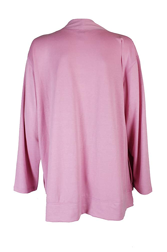 CHARTER CLUB MISS-MMG Charter Club Open-Front Knit Pajama Cardiga Orchid Smoke S