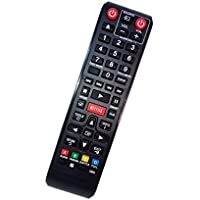 Replaced Remote Control Compatible for Samsung BD-EM57/ZA AK59-00141A BDEM59C BDF7500/ZA BDES6000 BD Blu-Ray DVD Disc Player