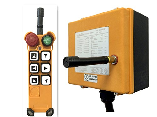 Crane Industrial Remote Control F26-C3 (1 Transmitter + 1 Receiver) with Six double-speed button