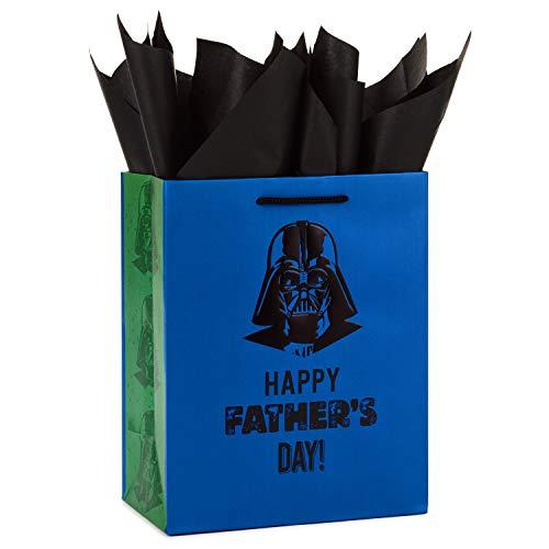 Hallmark Star Wars Medium Father's Day Gift Bag with Tissue Paper (Darth Vader)]()