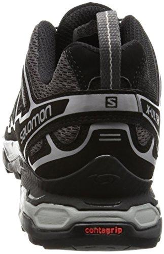 Salomon Mannen Ultra X 2 Trekking- & Wandelschoenen Grijs (snelweg / Zwart / Staalgrijs)