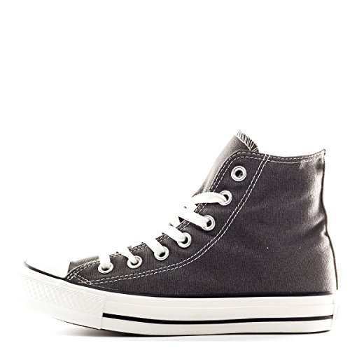 Converse Chuck Taylor Hi Top Charcoal Shoes 1J793 Mens 4