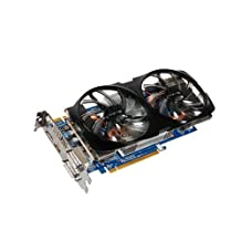 Gigabyte GV-N66TOC-2GD GeForce GTX 660 Ti WINDFORCE 2X OC Edition 2048MB GDDR5 PCI-Express 3.0 2x DVI/HDMI/DP SLI Ready Graphics Card (Discontinued by Manufacturer)