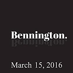 Bennington Archive, March 15, 2016