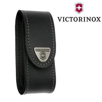 Victorinox - Estuche de cuero para navaja suiza de 91 mm, color ...