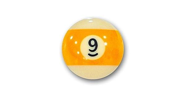 Bola de billar americano suelta 57,2mm no 9: Amazon.es: Deportes y ...