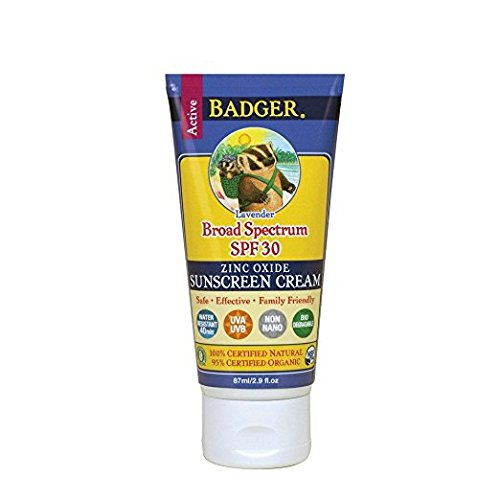 Badger SPF 30 Lavender Sunscreen Cream - 2.9 fl oz Tube