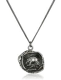 """talisman"" Sterling Silver Elephant Necklace, 18"""