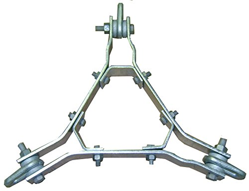 ROHN 25G Guy Bracket Assembly with Hardware - GA25GD - ROHN Tower by ROHN