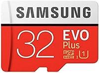 Samsung EVO Plus Grade 3, Class 10 32GB MicroSDXC 100 MB/S Memory Card
